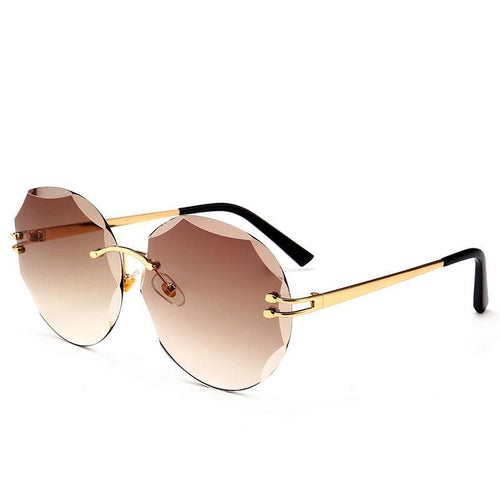 Diamond Cut-Edge Sunglasses