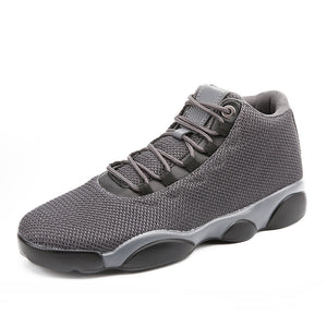 Mesh Gauze Surface Tie Belt Men's Sneakers