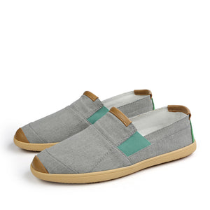 Colorblock Breathable Canvas Loafer