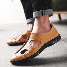 Leather Sandals Outdoor Beach Shoes