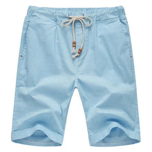 Solid Color Cotton Blend Casual Sports Shorts