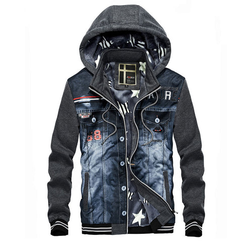 Hooded Casual Casual Zipper Polyester Men's Hoodies