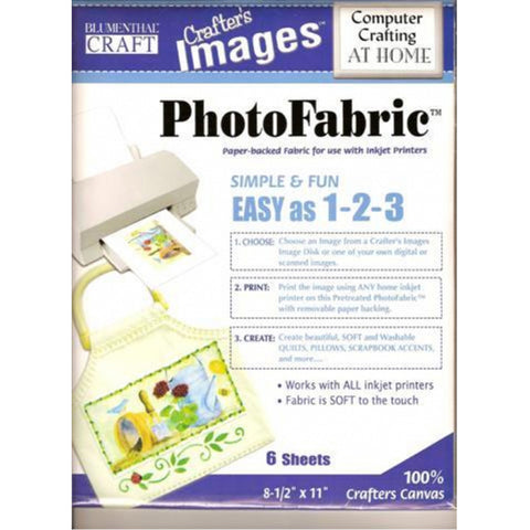 Cotton Crafters Canvas Photo Fabric US Letter