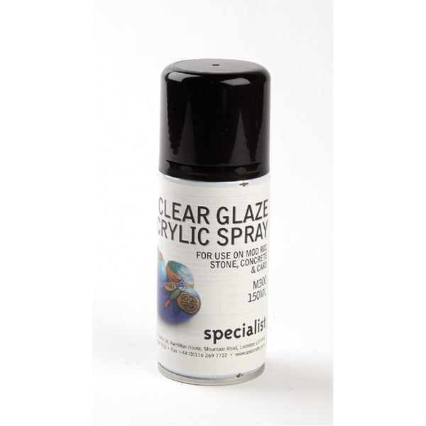 Clear Glaze Acrylic Spray 150ml