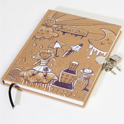 Journal with Lock and Key