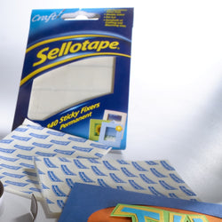 Sellotape Sticky Fixer Pads 12 x 25mm