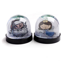 Snap-In Snow Globe