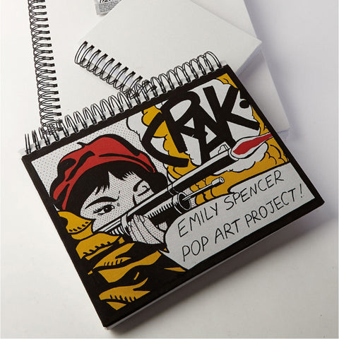 Canvas Cover Sketch Book