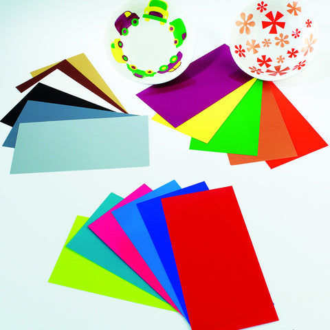 Glaze Transfer Sheets