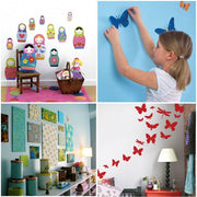 beautiful nursery decoration, Inkjet Sticker Paper, fun for the kids, playtime, play group,
