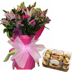 Exotic Flowers to bangalore for same day delivery in Bangalore