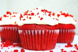 Send Red Velvet cup cakes to Bangalore through The Pastry Inn
