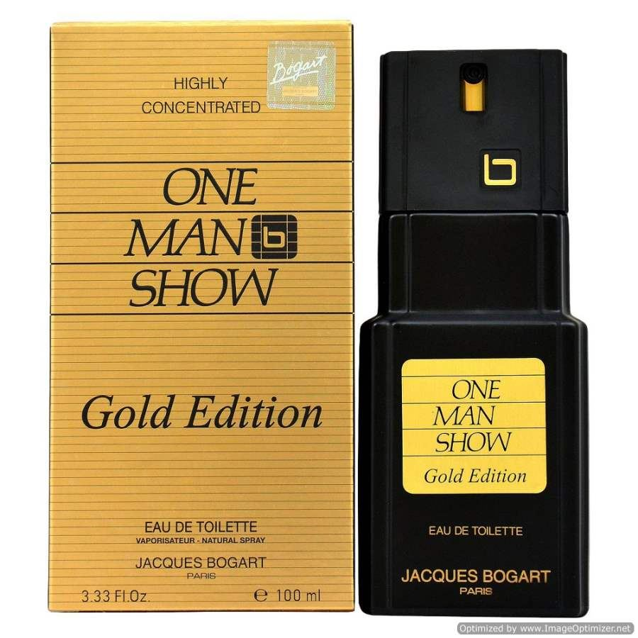 Buy original One Man Show Gold Edition By Jacques Bogart EDT 100ml only at Perfume24x7.com