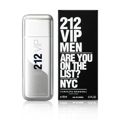 Buy original Carolina Herrera 212 VIP Men EDT 100ml only at Perfume24x7.com