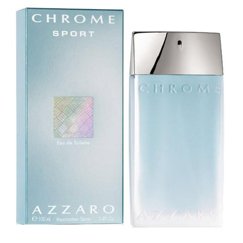 Buy original Azzaro Chrome Sport For Men EDT 100 ML only at Perfume24x7.com