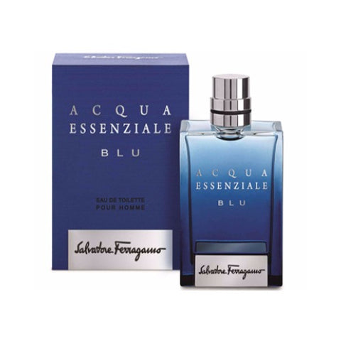 Buy original Salvatore Ferragamo Acqua Essenziale Blu Edt Men 100ml only at Perfume24x7.com