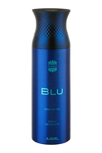 Buy original Ajmal Blu Pour Homme Deodorant 200ml only at Perfume24x7.com