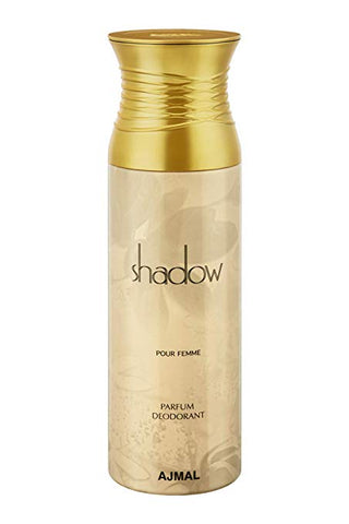 Buy original Ajmal Shadow Pour Femme Deodorant 200ml only at Perfume24x7.com