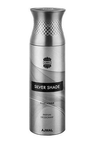 Buy original Ajmal Silver Shade Pour Homme Deodorant 200ml only at Perfume24x7.com
