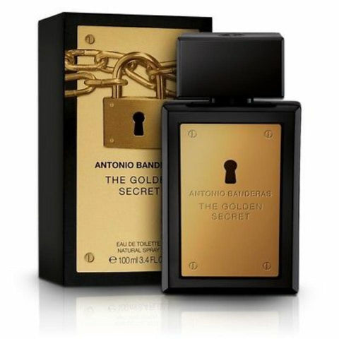 Buy original Antonio Banderas Golden Secret Men Edt 100 Ml only at Perfume24x7.com