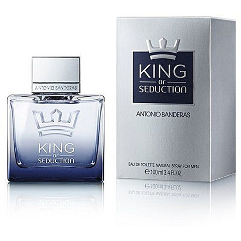 Buy original Antonio Banderas King of Seduction Edt For Men 100ml only at Perfume24x7.com