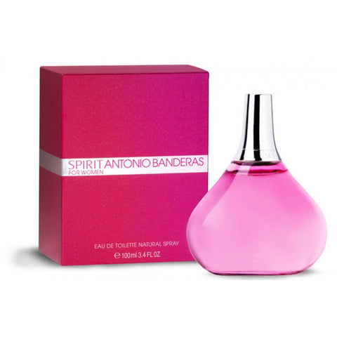 Buy original Antonio Banderas Spirit EDT For Women 100ml only at Perfume24x7.com