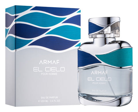 Buy original Armaf El Cielo Pour Homme Eau De Parfum 100ml only at Perfume24x7.com