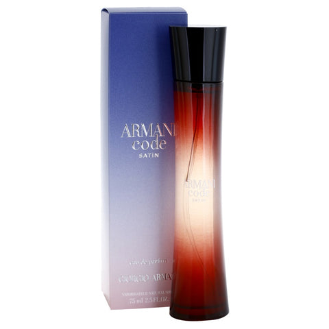 Giorgio Armani Code Satin EDP For Women 75ml - Perfume24x7.com