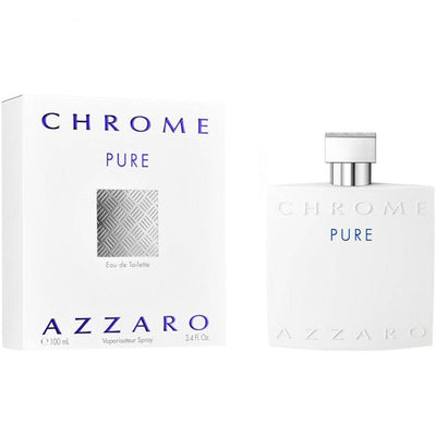 Buy original Azzaro Chrome Pure Edt 100 Ml only at Perfume24x7.com