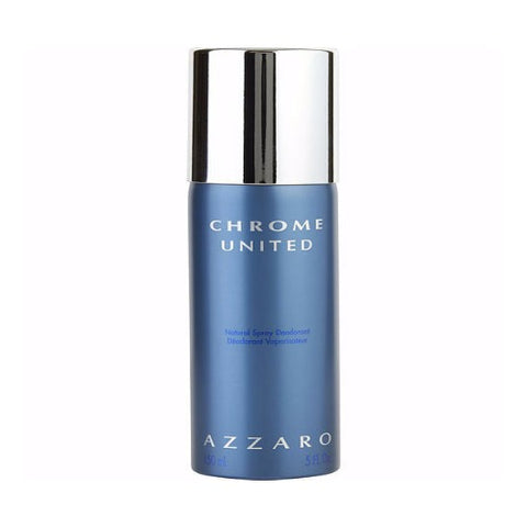 Buy original Azzaro Chrome United Deodorant For Men 150ml only at Perfume24x7.com