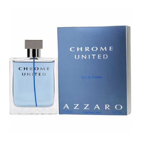Buy original Azzaro Chrome United Edt For Men 100 Ml only at Perfume24x7.com