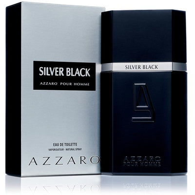 Buy original Azzaro Silver Black Edt For Men 100ml only at Perfume24x7.com