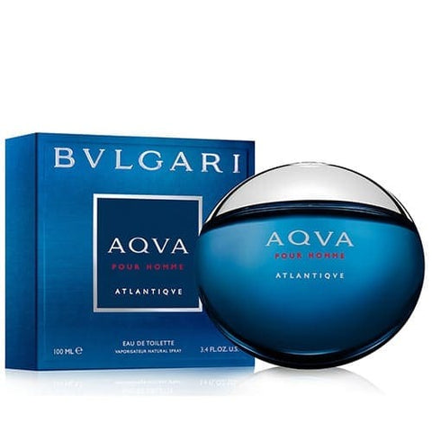 Buy original Bvlgari Aqva Pour Homme Atlantiqve EDT 100ml only at Perfume24x7.com
