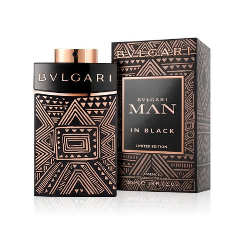 Bvlgari Man in Black Limited Edition Essence Natural Spray For Men 100ml