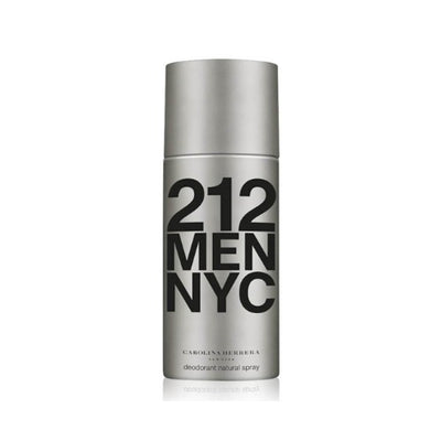 Buy original Carolina Herrera 212 Men NYC Deodorant 150ml only at Perfume24x7.com