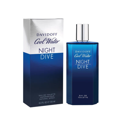 Buy original Davidoff Cool Water Night Dive EDT For Men 125ml only at Perfume24x7.com