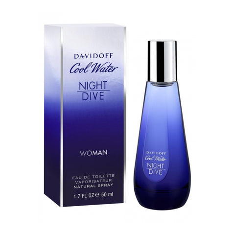 Davidoff Coolwater Nightdive For Women 80ml - Perfume24x7.com
