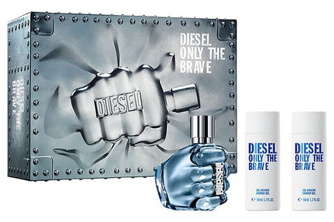 Buy original Diesel Only The Brave 3 Pc Gift Set only at Perfume24x7.com