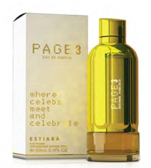 Buy original Estiara Page 3 EDP For Women 100ml only at Perfume24x7.com