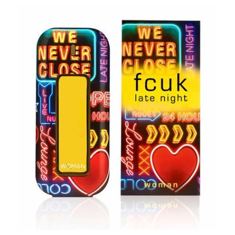 Buy original FCUK Late Night EDT For Women 100ml only at Perfume24x7.com