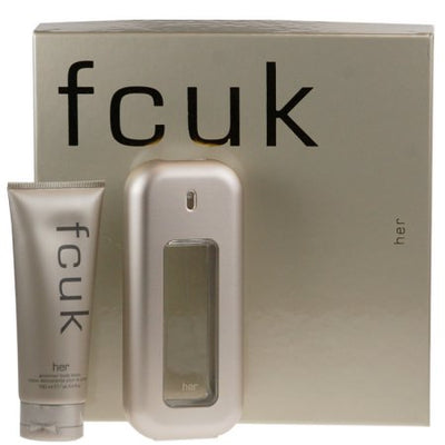 Buy original Fcuk For Women EDT Gift Set 100ml only at Perfume24x7.com