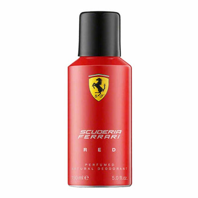 Buy original Ferrari Scuderia Red Deodorant For Men 150ml only at Perfume24x7.com