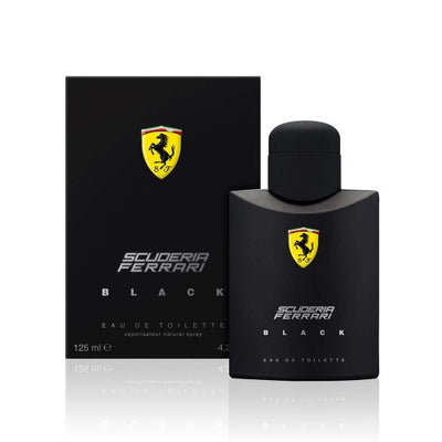 Buy original Ferrari Black EDT For Men 125ml only at Perfume24x7.com