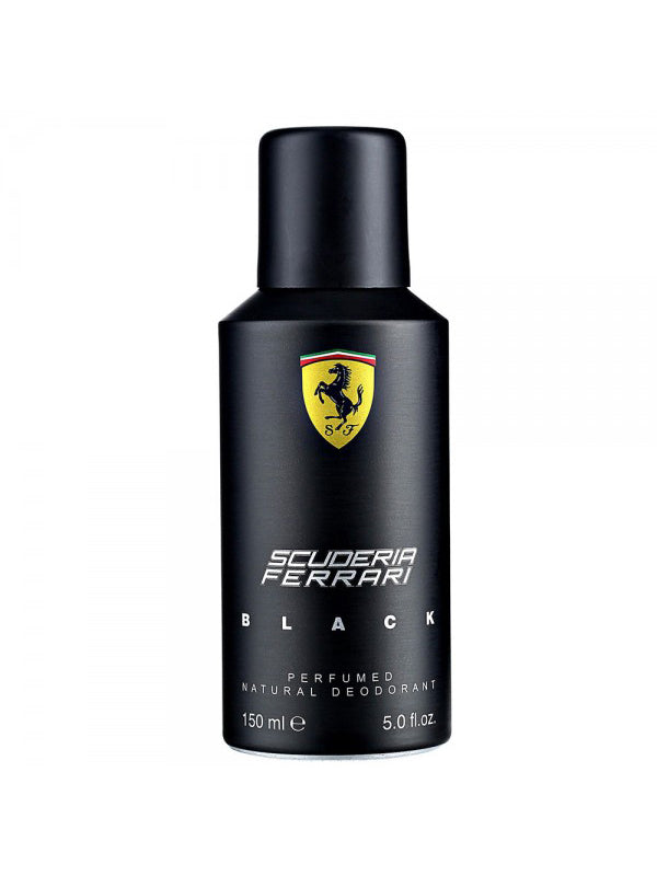 Buy original Ferrari Scuderia Black Deodorant For Men 150ml only at Perfume24x7.com