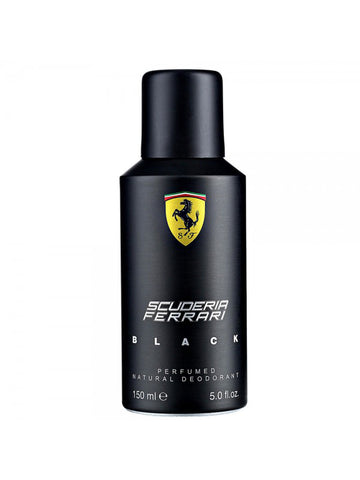 Ferrari Scuderia Black Deodorant For Men 150ml