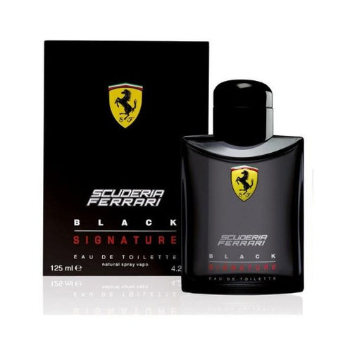 Buy original Ferrari Black Signature EDT For Men 125ml only at Perfume24x7.com