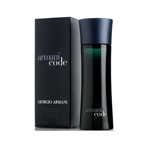 Buy original Giorgio Armani Code EDT For Men 75ml only at Perfume24x7.com