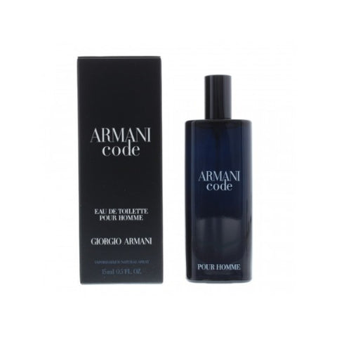 Buy original Giorgio Armani Code EDT For Men 15ml Miniature Spray only at Perfume24x7.com