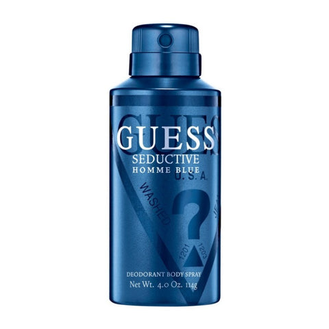 Buy original Guess Seductive Blue Deodorant For Men 150ml only at Perfume24x7.com