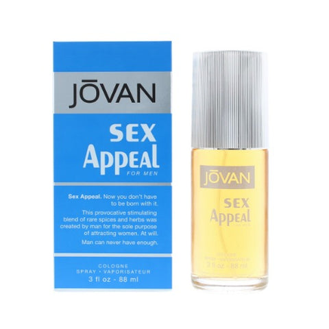 Jovan Sex Appeal Cologne For Men 88ml